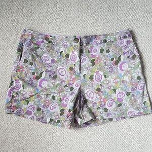 "LOFT Floral Print 4"" Shorts"